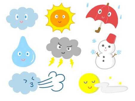 날씨의 일러스트