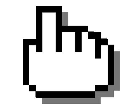 ドット絵-指差し