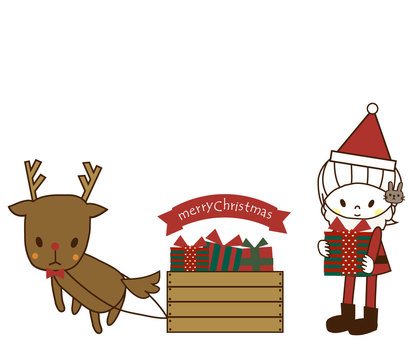 pu and reindeer