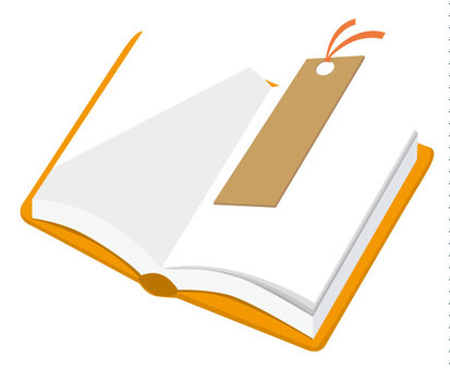 Book icon Orange