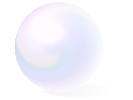 Crystal balls - with shadows / Crystalball