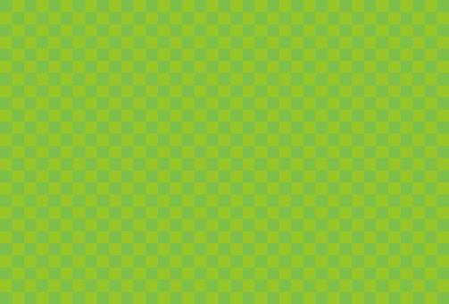 Checkered pattern green 05