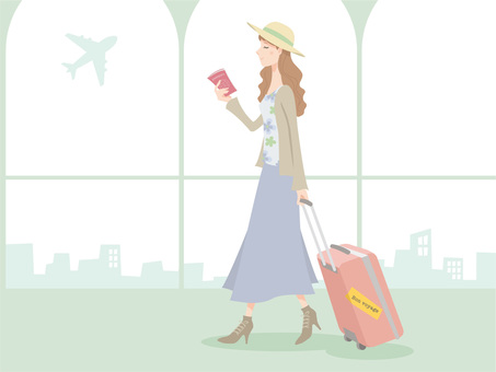 Female _ Overseas travel