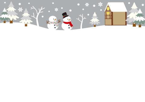 Christmas frame No. 9