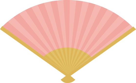 Folding fan <Pink>