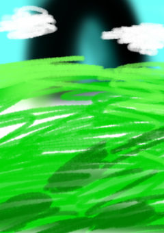 Picture-book wind background