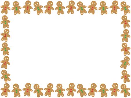 Gingerman Cookie Frame 3