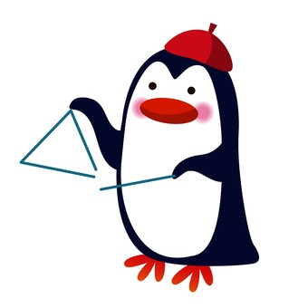 Triangle and penguin