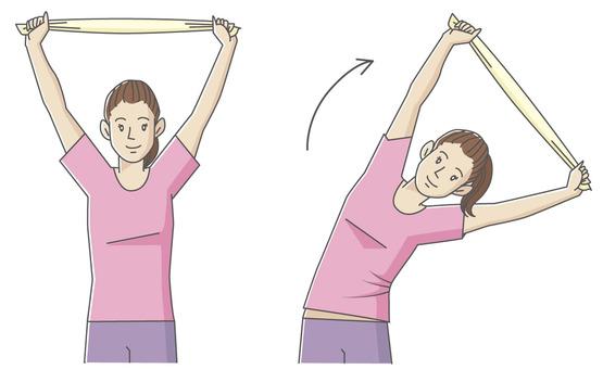 Towel stretch_c