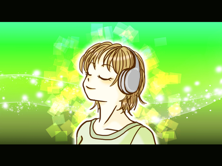 Listen to music (with background)