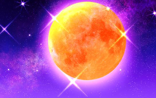 달과 은하수