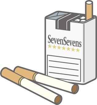 長谷川式認知症-タバコ-全身