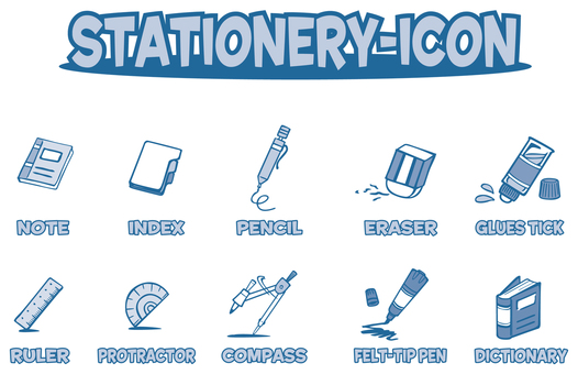 STATIONARY- ICON