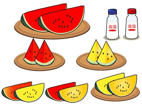 Watermelon variety set 10