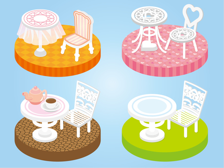 Outdoor Table Parts_Overview