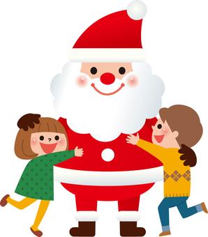 聖誕老人和孩子