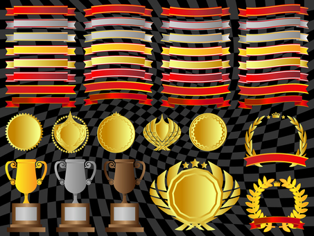 Ribbon / Trophy / Emblem