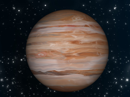 Space wallpaper Planet Jupiter ①