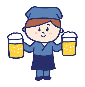 Clerk of a pub