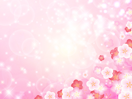 Sparkly plum background (lower right)