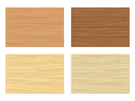 Wood material set