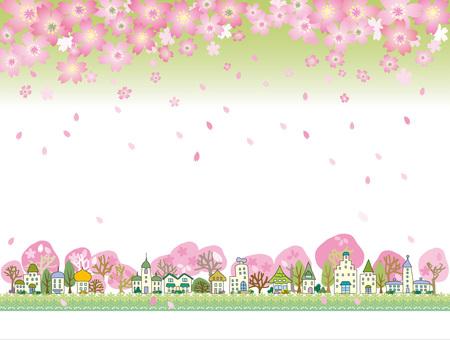 Cityscape _ Sakura