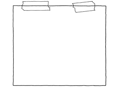 Notepad (tape) monochrome