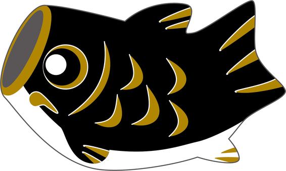 鯉魚streamer_black