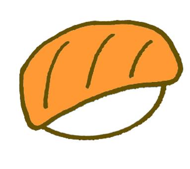 Sushi salmon