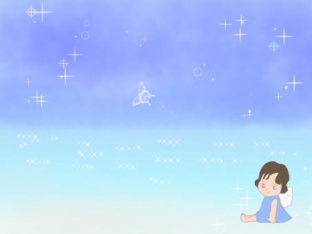 Angel at the beach