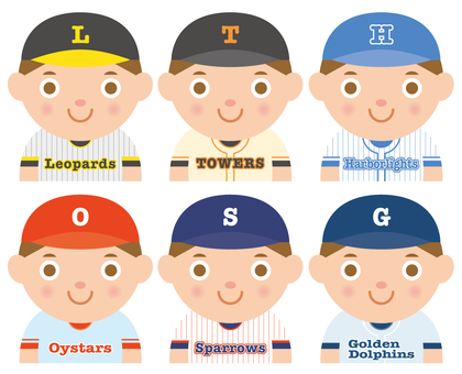 Fictitious baseball team _ 01