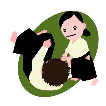 Aikido practice (1)