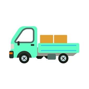 파란 트럭