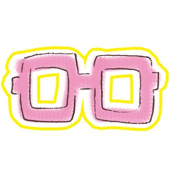 Glasses glasses eyeglasses