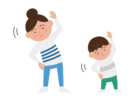 Exercise parent and child