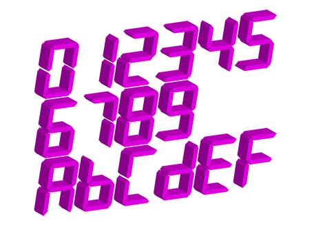 7 segment display 3