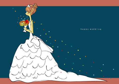 웨딩 드레스 2