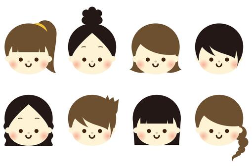 Assorted girls