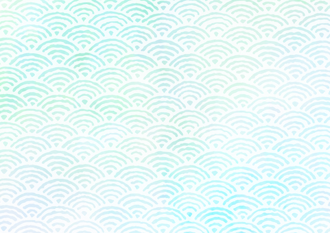 Background material Ocean wave blue green