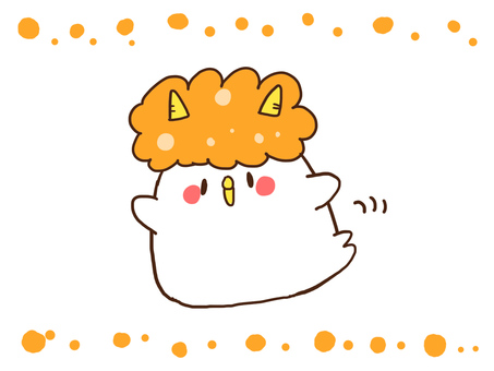 【Setsubun】 Demon's chicken 【bean maki】