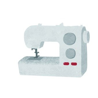 Hand-drawn wind sewing machine
