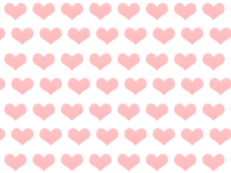 Heart pink background