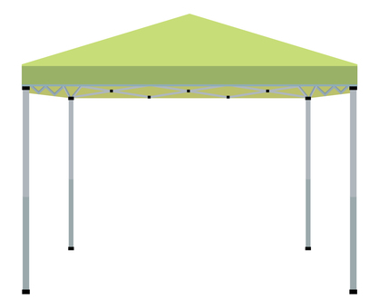Tent 01 yellow green