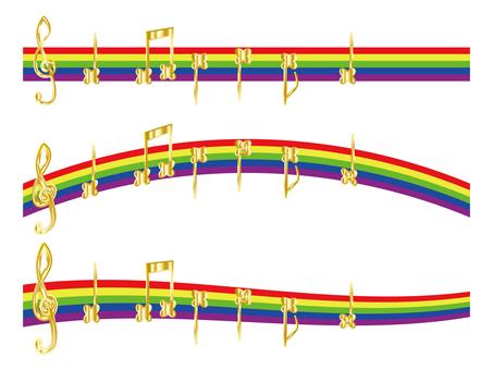 Rainbow note 2