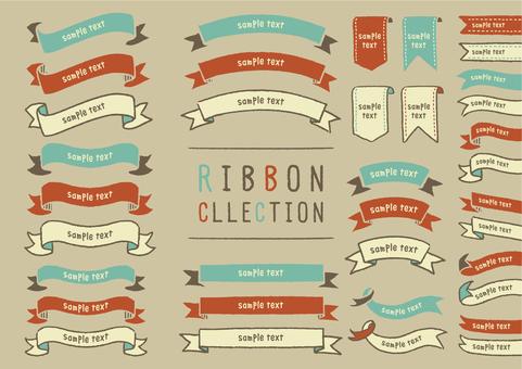 Handwritten ribbon set 2