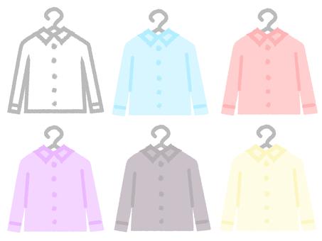 No-line Y-shirt laundry