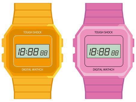 디지털 시계 3