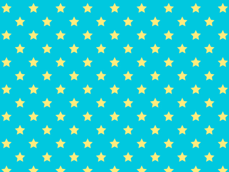ai star pattern with swatch background blue turquoise
