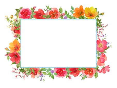 Rose pink frame