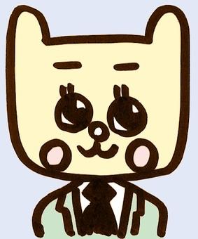 정장 ねこたん 컬러 suit cat